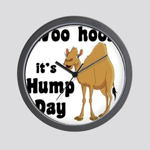 Hump Day Wall Clock