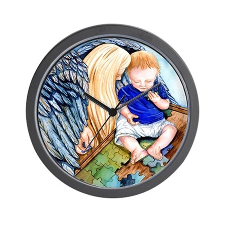 Autism Protection Wall Clock