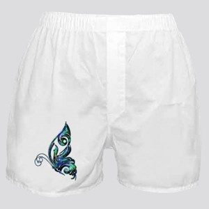 Abalone Shell Art Deco Butterfly Boxer Shorts