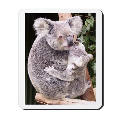 Koala Kisses Mousepad