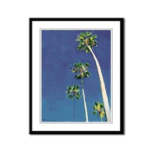 Piece of San Diego Heaven Framed Panel Print