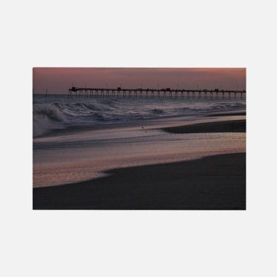 Carolina Sunset Rectangle Magnet