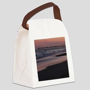 Carolina Sunset Canvas Lunch Bag