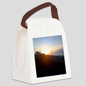 Carolina Sunrise Canvas Lunch Bag