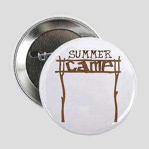 "Summer Camp Sign 2.25"" Button"