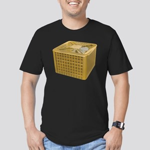 Golden AC Men's Fitted T-Shirt (dark)