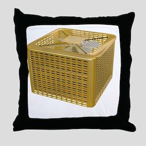 Golden AC Throw Pillow