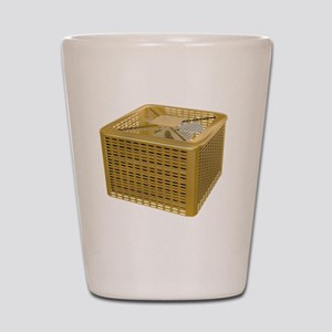 Golden AC Shot Glass