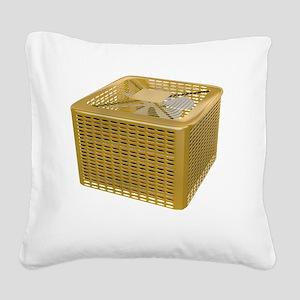 Golden AC Square Canvas Pillow