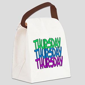 thursday Canvas Lunch Bag