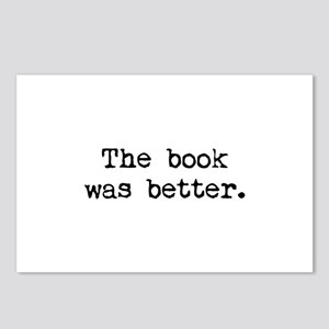 The Book Was Better. Postcards (Package of 8)
