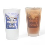 The Western Lives Drinking Glass