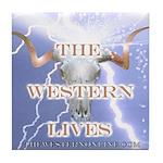 The Western Lives Tile Coaster