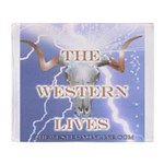 The Western Lives Throw Blanket
