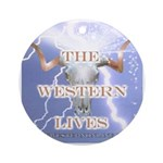 The Western Lives Ornament (Round)