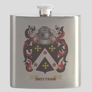 Mottram Coat of Arms - Family Crest Flask