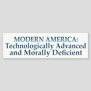 Modern America Bumper Sticker