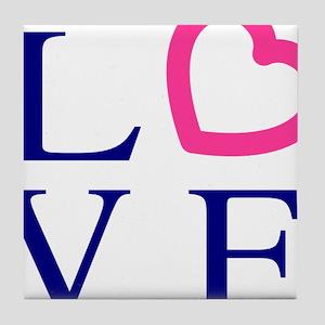 love-logo-hi Tile Coaster