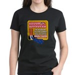 APPROVED! - Double Bacon Women's Dark T-Shirt
