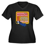 APPROVED! - Double Bacon Women's Plus Size V-Neck