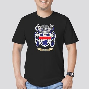 Mueller Coat of Arms - Men's Fitted T-Shirt (dark)