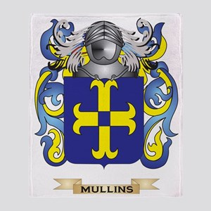 Mullins Coat of Arms - Family Crest Throw Blanket