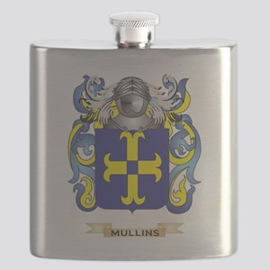 Mullins Coat of Arms - Family Crest Flask