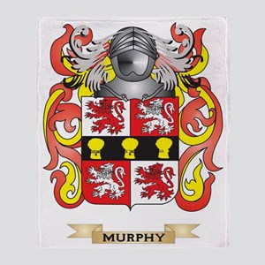 Murphy Coat of Arms - Family Crest Throw Blanket