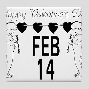 HAPPY VALENTINES Tile Coaster