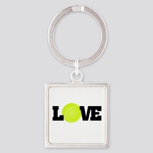 Tennis Love Keychains