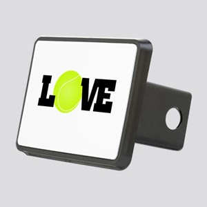 Tennis Love Hitch Cover