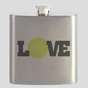 Tennis Love Flask