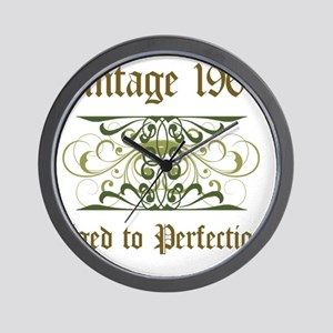 1963 Vintage Birthday (Old English) Wall Clock