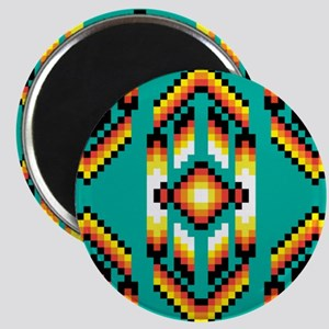 Native American Design Turquoise Magnets