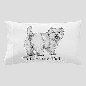 Westie Attitude Pillow Case