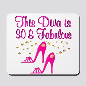DAZZLING 30TH Mousepad