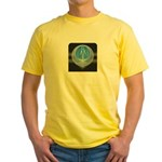 artist michaelm Yellow T-Shirt
