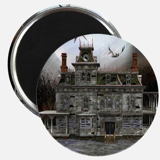 Halloween House Magnet