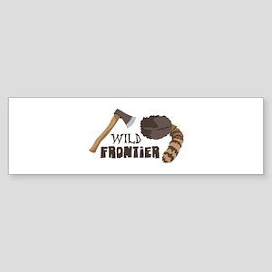 Wild Frontier Bumper Sticker
