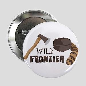 """Wild Frontier 2.25"""" Button"""