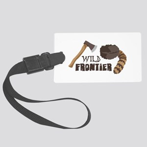 Wild Frontier Luggage Tag