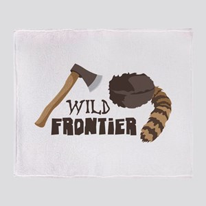 Wild Frontier Throw Blanket