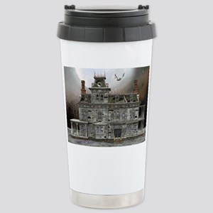 Halloween House Stainless Steel Travel Mug