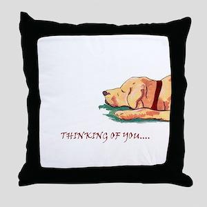 Thinking of You .. Always .. Throw Pillow