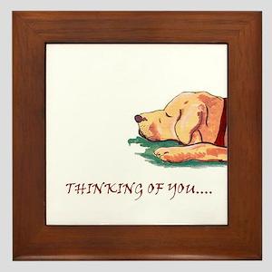 Thinking of You Dreamer Framed Tile