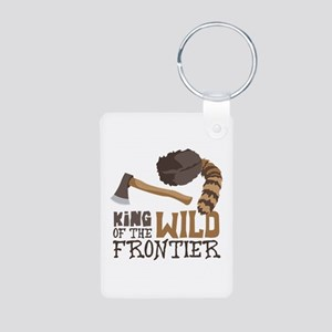King of the Wild Frontier Keychains