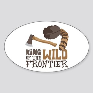King of the Wild Frontier Sticker
