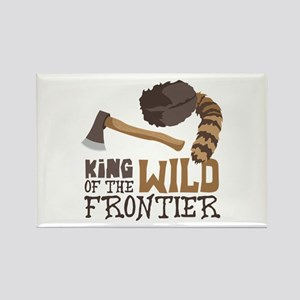 King of the Wild Frontier Magnets