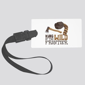 King of the Wild Frontier Luggage Tag