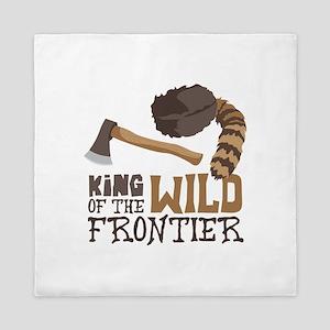 King of the Wild Frontier Queen Duvet